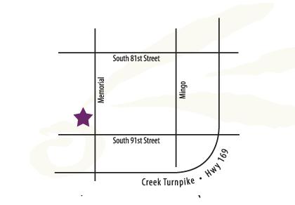 Tulsa Location Map
