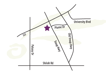 Tyler Location Map